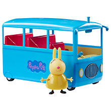 Buy Peppa Pig School Bus Online at johnlewis.com