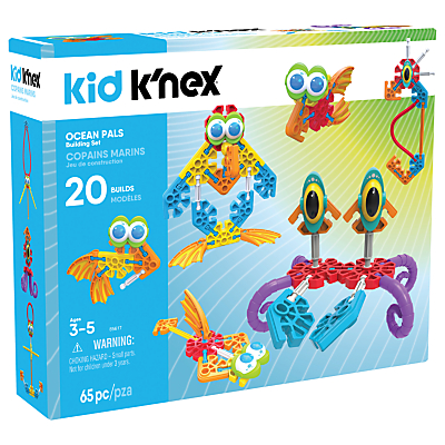 Image of K'nex 85617 Kid K'nex Ocean Pals Building Set