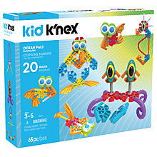 Buy K'nex 85617 Kid K'nex Ocean Pals Building Set Online at johnlewis.com