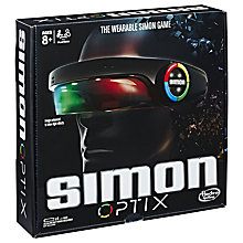 Buy Hasbro Simon Optix Game Online at johnlewis.com