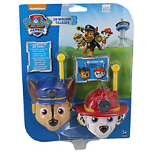 Buy Paw Patrol 3D Walkie Talkies Online at johnlewis.com