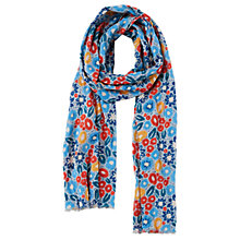 Buy Seasalt New Everyday Scarf, Pen Mark Floral Cobble Online at johnlewis.com