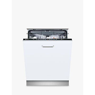 Neff S513K60X1G Integrated Dishwasher, Black