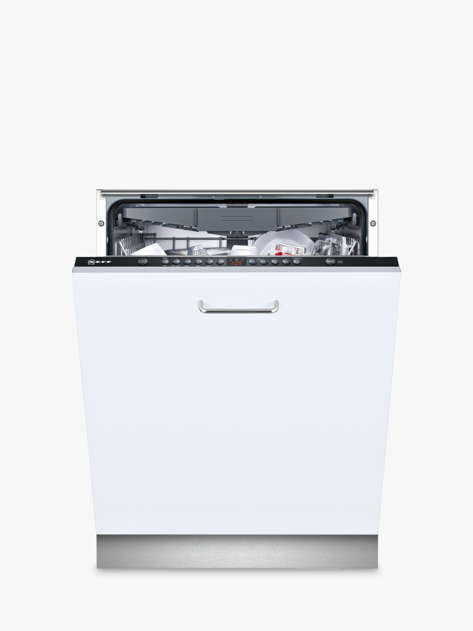 NEFF Neff S513K60X1G Integrated Dishwasher, Black