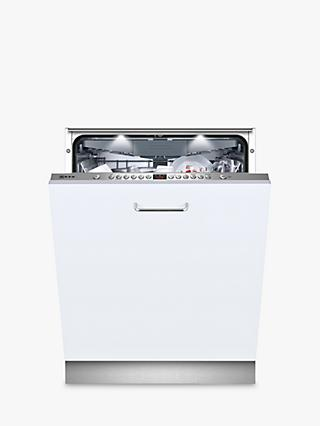 Neff S513M60X1G Integrated Dishwasher, Stainless Steel