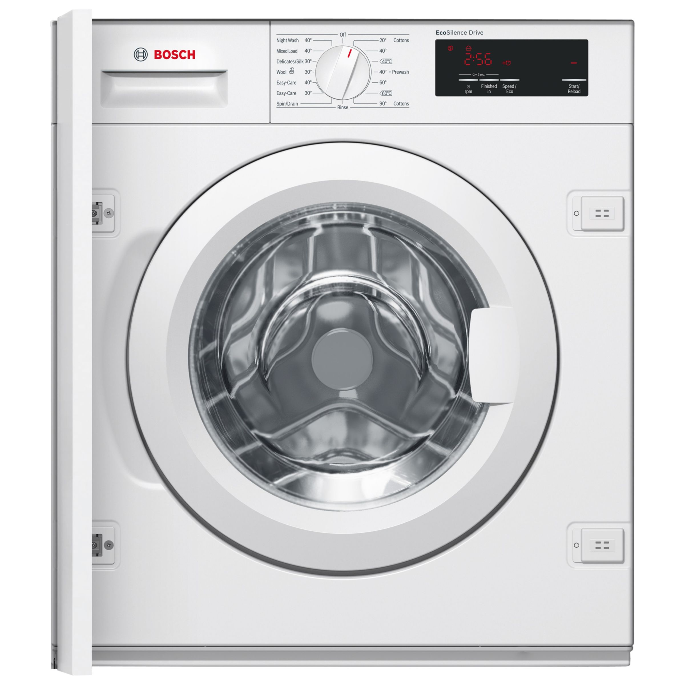 Bosch Bosch WIW28300GB Integrated Washing Machine, 8kg Load, A+++ Energy Rating, 1355rpm Spin, White