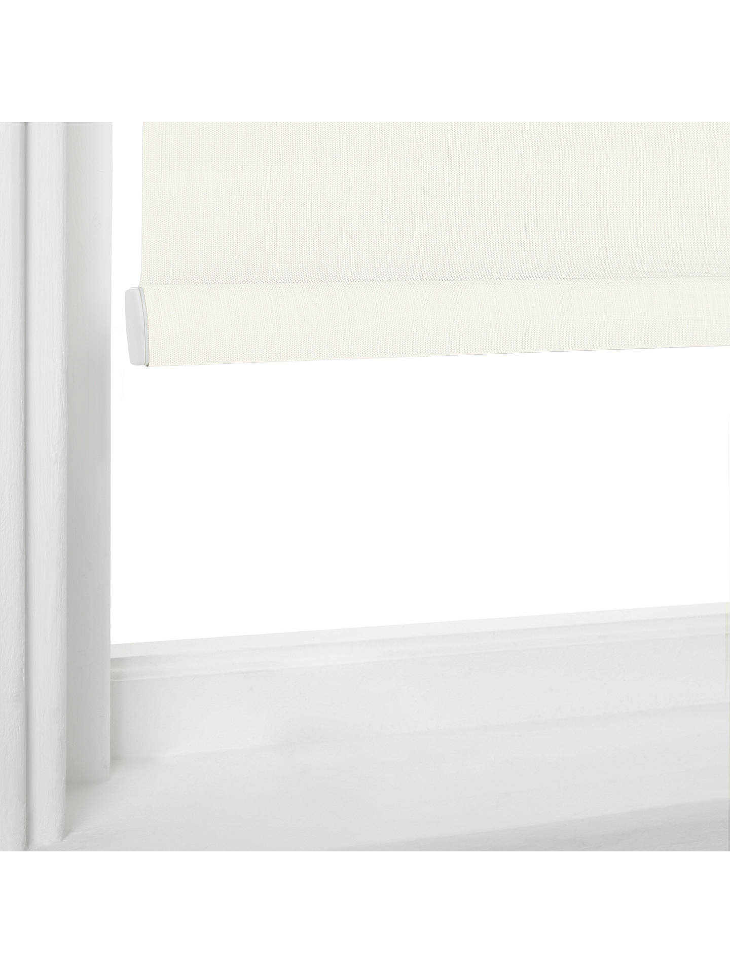 Buy John Lewis & Partners Firenze Made to Measure Blackout Roller Blind, Chalk Online at johnlewis.com