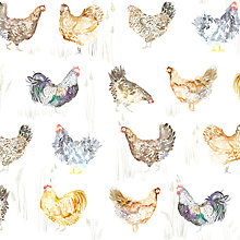 Buy Voyage Chook Chook Mini Made to Measure Daylight Roller Blind, Natural Online at johnlewis.com