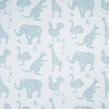 Buy Paperboy How it Works Made to Measure Blackout Roller Blind, Blue Online at johnlewis.com