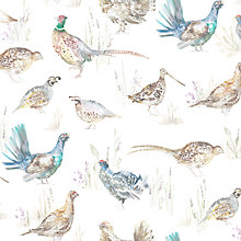 Buy Voyage Games Birds Mini Made to Measure Daylight Roller Blind, Natural Online at johnlewis.com