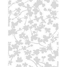 Buy John Lewis Lovely Blossom Made to Measure Daylight Roller Blind, Grey Online at johnlewis.com