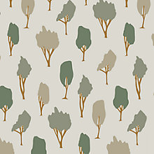 Buy Orwell and Goode Silent Woods Made to Measure Daylight Roller Blind, Moss Online at johnlewis.com