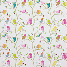 Buy Harlequin What a Hoot Made to Measure Daylight Roller Blind, Pink / Lime Online at johnlewis.com