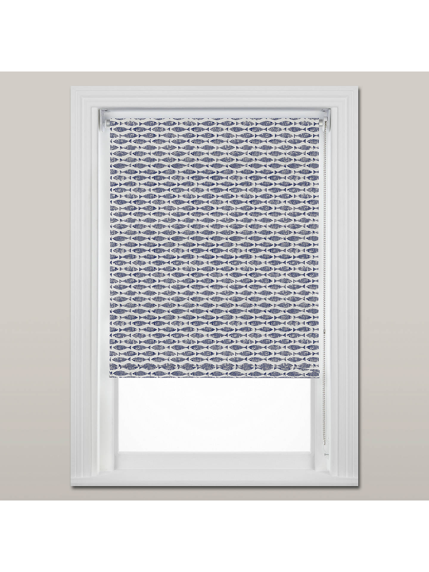 BuyScion Samaki Made to Measure Daylight Roller Blind, Blue Online at johnlewis.com
