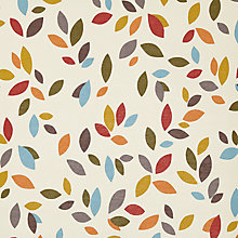 Buy John Lewis Scattered Leaves Made to Measure Daylight Roller Blind, Multi Online at johnlewis.com
