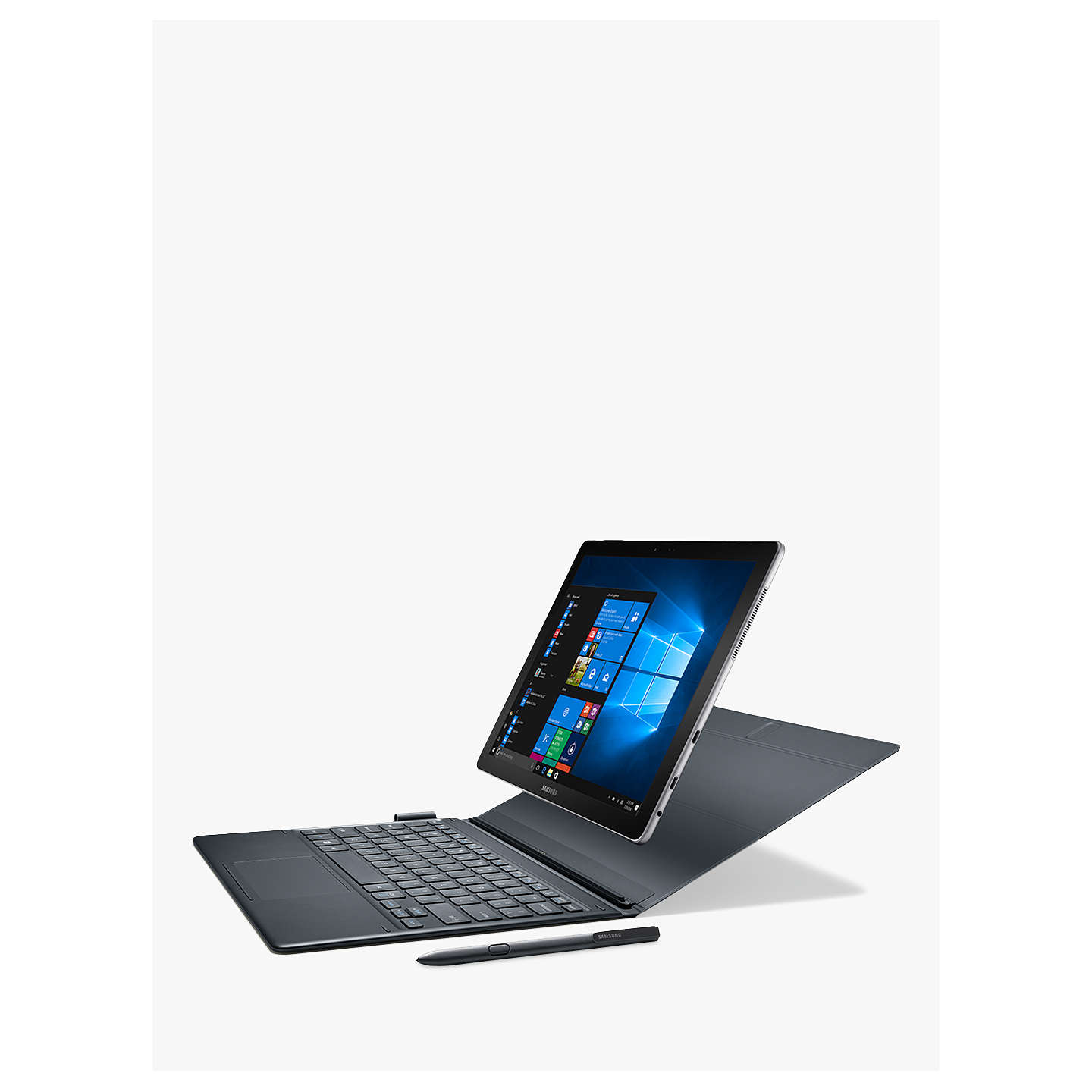 "BuySamsung Galaxy Book, Intel Core i5, 4GB RAM, 128GB SSD, 12"", Black Online at johnlewis.com"