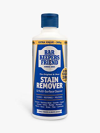Bar Keepers Friend Stain Remover & Multi-Surface Cleaner, 300ml x 2 (Bundle)