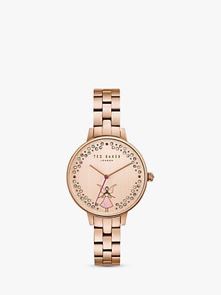 acfbbd379b2 Ted Baker TE50005003 Women s Kate Ballerina Mesh Bracelet Strap Watch