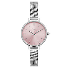 Buy Ted Baker Women's Kate Mesh Bracelet Strap Watch Online at johnlewis.com