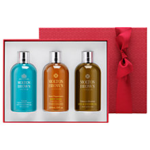 Buy Molton Brown Adventurous Experiences Bath & Shower Gel Gift Set Online at johnlewis.com