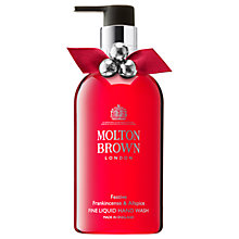 Buy Molton Brown Festive Frankincense & Allspice Hand Wash, 300ml Online at johnlewis.com