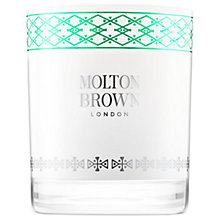 Buy Molton Brown Fabled Juniper Berries & Lapp Pine Single Wick Candle Online at johnlewis.com