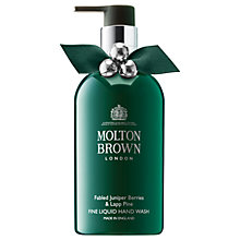 Buy Molton Brown Fabled Juniper Berries & Lapp Pine Hand Wash, 300ml Online at johnlewis.com