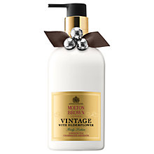 Buy Molton Brown Vintage With Elderflower Body Lotion, 300ml Online at johnlewis.com