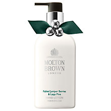 Buy Molton Brown Fabled Juniper Berries & Lapp Pine Hand Lotion, 300ml Online at johnlewis.com