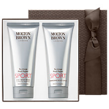 Buy Molton Brown Re-Charge Black Pepper Sport Bath & Body Gift Set Online at johnlewis.com
