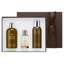 Buy Molton Brown Tobacco Absolute Fragrance & Body Gift Set Online at johnlewis.com