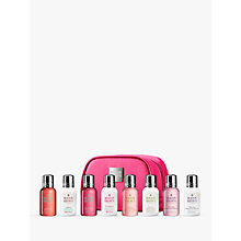 Buy Molton Brown Women's Mini Luxurious Bath & Body Travel Set, Pink Online at johnlewis.com
