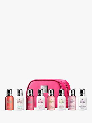 Molton Brown Women's Mini Luxurious Bath & Body Travel Set, Pink