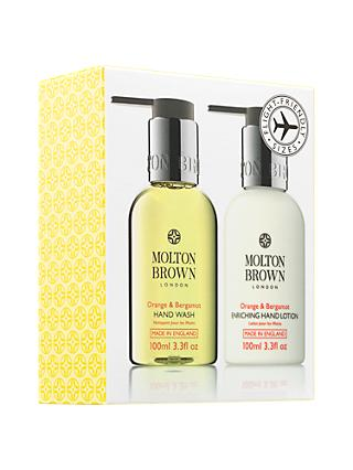 Molton Brown Orange & Bergamot Travel Hand Duo