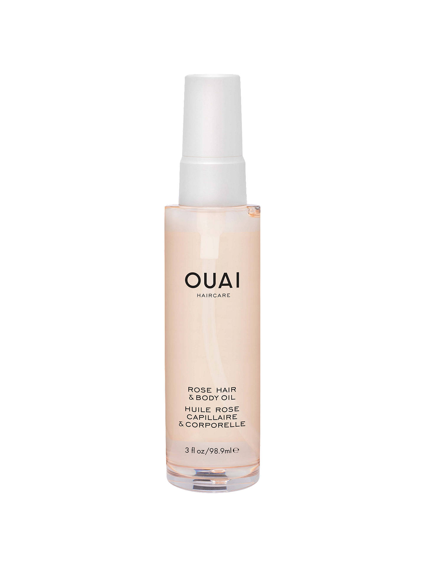 BuyOUAI Rose Hair & Body Oil, 98.9ml Online at johnlewis.com
