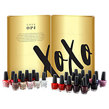 Buy OPI LOVE OPI XOXO Mini Nail Lacquer 25 Pack Gift Set Online at johnlewis.com