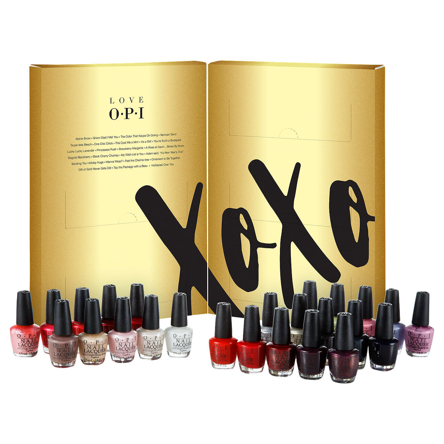 BuyOPI LOVE OPI XOXO Mini Nail Lacquer 25 Pack Gift Set Online at johnlewis.com
