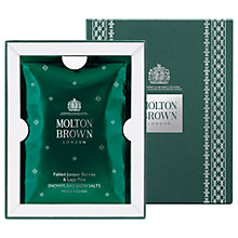 Buy Molton Brown Fabled Juniper Berries & Lapp Pine Snowflake Bath Salts Online at johnlewis.com