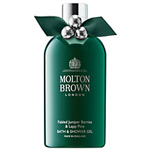 Buy Molton Brown Fabled Juniper Berries & Lapp Pine Bath & Shower Gel, 300ml Online at johnlewis.com