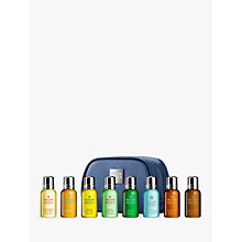 Buy Molton Brown Mini Men's Luxurious Bath & Body Travel Set, Blue Online at johnlewis.com