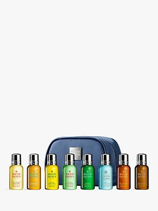 Molton Brown Mini Men's Luxurious Bath & Body Travel Set, Blue