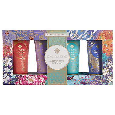 Heathcote & Ivory Sakura Silks Sublime Travel Collection