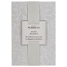 Buy Heathcote & Ivory Morris & Co Pure Morris Hand Wash And Lotion Duo Online at johnlewis.com