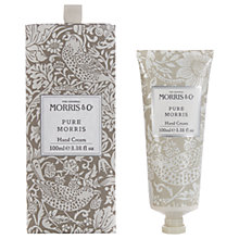 Buy Heathcote & Ivory Morris & Co Pure Morris Hand Cream, 100ml Online at johnlewis.com