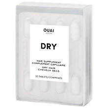 Buy OUAI Dry Hair Supplement, 30 Tablets Online at johnlewis.com