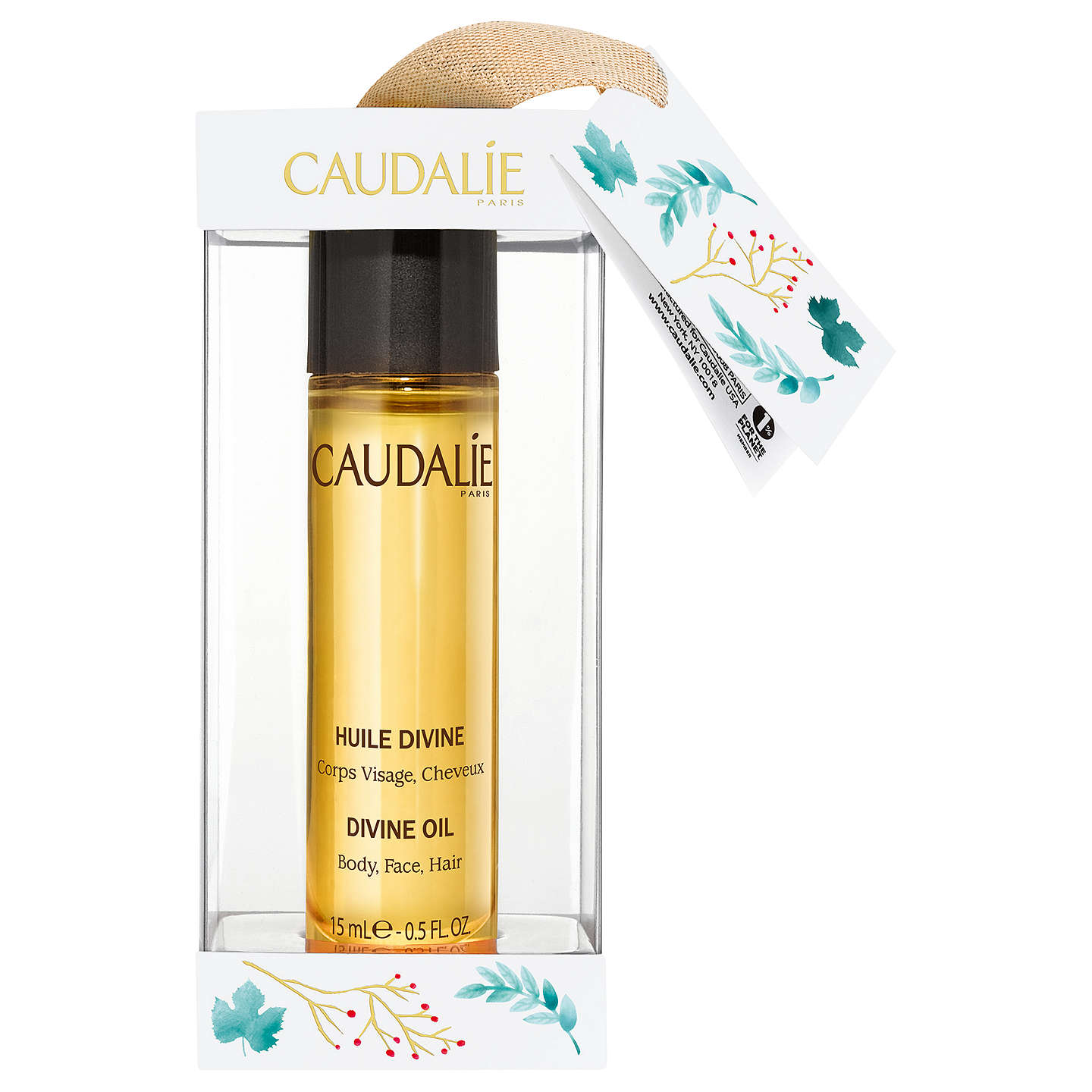 BuyCaudalie Divine Oil Christmas Bauble Online at johnlewis.com