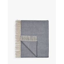 Buy Tolly McRae Fine Merino Herringbone Weave Throw Online at johnlewis.com