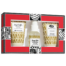 Buy Origins Go Ginger Bodycare Gift Set Online at johnlewis.com