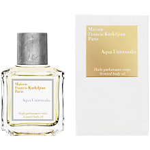 Buy Maison Francis Kurkdjian Aqua Universalis Body Oil, 70ml Online at johnlewis.com