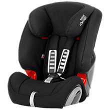 Buy Britax Römer Evolva Group 1/2/3 Car Seat, Cosmos Black Online at johnlewis.com